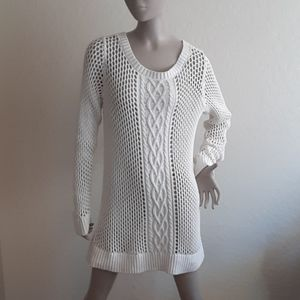 Tommy Bahama cable knit tunic